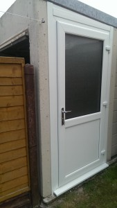 Garage Replacement access doors and window