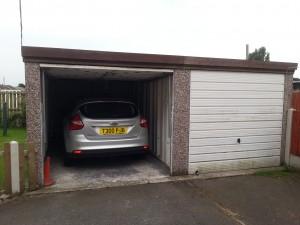 Garage repairs before
