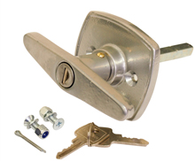 Compton garage door locks