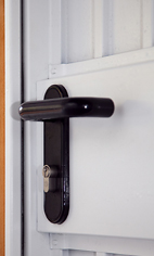 Compton garage door locks access lock