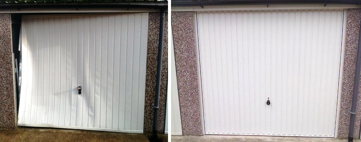 Door Frame: Garage Door Frame Replacement