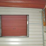 Sectional garage accessories including this Roller Shutter available in 6 different colours