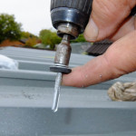 Fixings with no drilling required