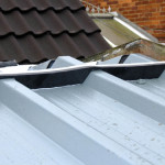 Ridge Tile being fitted