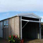Rockstone Installation open roller door
