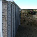 Rockstone Installation side on view