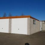 Double Pent Garages