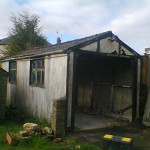 Old Garage needing replacement or revamp