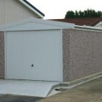 New Apex Single Garage Roller Door Pvcu