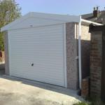 Apex Single Garage Roller Door Pvcu