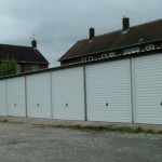 Battery Garages in White