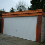 Pent Double with timber front