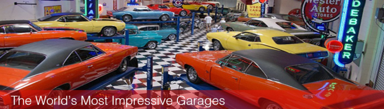 The World's Most Impressive Garages