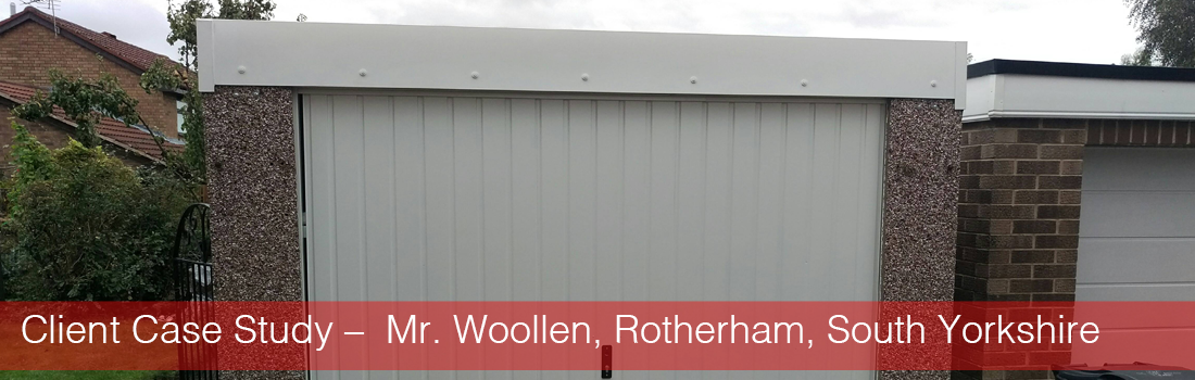 Client Case Study –  Mr. Woollen, Rotherham, South Yorkshire