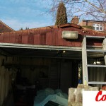 Mrs. Richards from West London contacted Compton Spares.com for a competitive quotation to replace her garage roof.