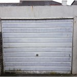 A garage door which no longer opens