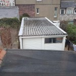 corrugated asbestos roof in need of replacement